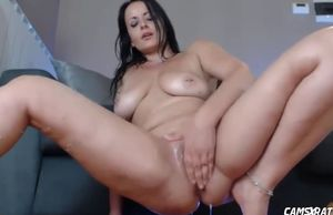Highly squirty step mother milking for