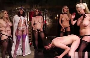 Aiden Starr and Mates Pegging..