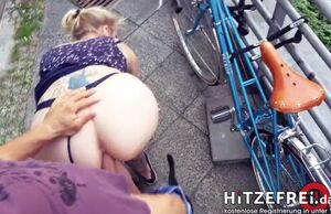 German claudia boned in public by..