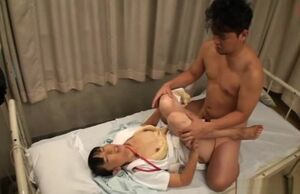 Wild super-naughty nurse gives boy..
