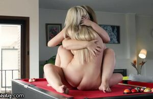Girlsway all girl aussie duo scissors..