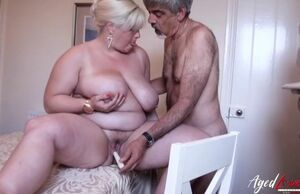 Agedlove big-chested blond mature..