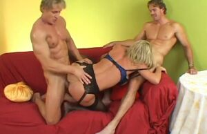 Jordan haze gets boned from 2 sides at..