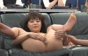 office damsel is a ultra-kinky Chinese..