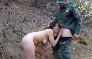 Cop undress first-ever time Kayla West..