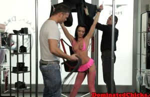 Euro bombshell elations her dom..