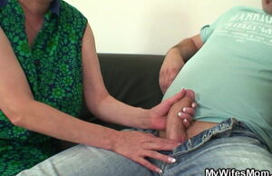 Wifey catches him plowing immense..