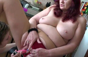 OLDNANNY mature and damsel lezzies