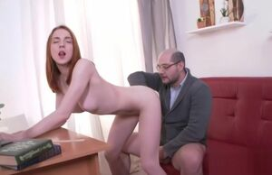 Congenital student gets seduced and..