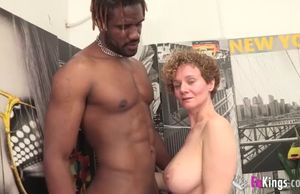Huge-chested spanish mature