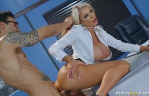 Nicolette Shea & Alex Vet in The  From..