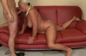 Buxomy Grandmother Ass-fuck