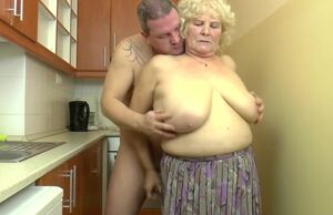 Huge-boobed Hungarian Grandmother..