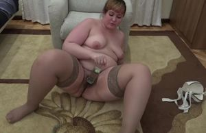 super-sexy bbw, pounds his ample furry..