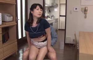 Mischievous Japanese milf gets a saucy..