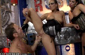 Rocco Siffredi's Fat Shaft for 2..